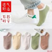 襪子女士短襪淺口船襪ins潮南非純棉中筒日系可愛秋冬韓國-『美人季』