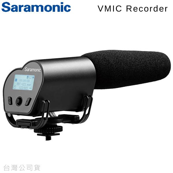 EGE 一番購】SARAMONIC【Vmic Recorder】電容式麥克風 超心型指向 有監聽孔設計【公司貨】