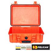 美國 PELICAN 1450NF 氣密箱-空箱(橘)(公司貨)