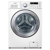 【SAMSUNG三星】14KG洗脫烘滾筒洗衣機WD14F5K5ASW(白)