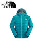 【The North Face 男 ThermoBall暖魔球 保暖兜帽外套 瓷釉藍】 C938/暖魔球外套