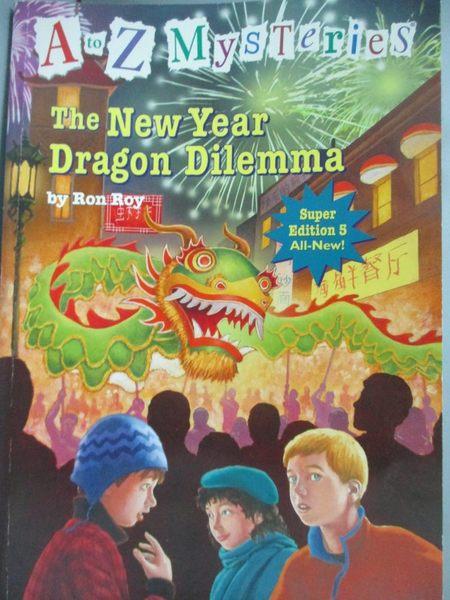 【書寶二手書T8/原文小說_LDO】The New Year Dragon Dilemma_Roy, Ron