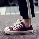 帆布鞋女新款韓版百搭學生原宿ulzzang板鞋1970s復古女鞋子潮 雙12全館免運