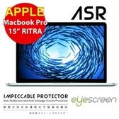 """TWMSP★按讚送好禮★EyeScreen Macbook Pro 15"""" Retina  靜電式低反射護眼抗污 螢幕保護貼"""