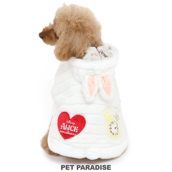 【PET PARADISE 寵物精品】DISNEY 2021新款●Wonder Land愛麗絲鋪毛斗篷(3S/DSS/SS/DS/S) 秋冬新品