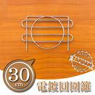 30cm波浪架專用配件-圓圍籬