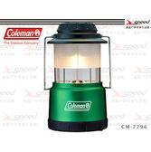 【速捷戶外露營】【美國Coleman】伸縮型LED營燈/電子燈/手電筒 CM-7796JM000(綠)