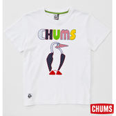 CHUMS RAYON Booby Applique 短袖T恤-白色 【GO WILD】