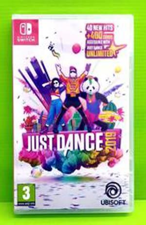 (中文版)NS Switch 舞力全開 2019 Just Dance 2019