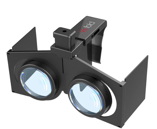 新品VRfold迷你口袋VR可折疊手機3D眼鏡便攜式暴風魔鏡VRbox