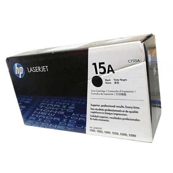 福利品 全新 C7115A HP 原廠黑色碳粉匣 適用 LaserJet/1000/1005/1200/1220/3300/3310/3320/3330/3380