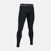 UA HG Armour [1289577-001] 男 強力 伸縮型 緊身褲 運動 訓練 舒適 透氣 支撐 包覆 黑