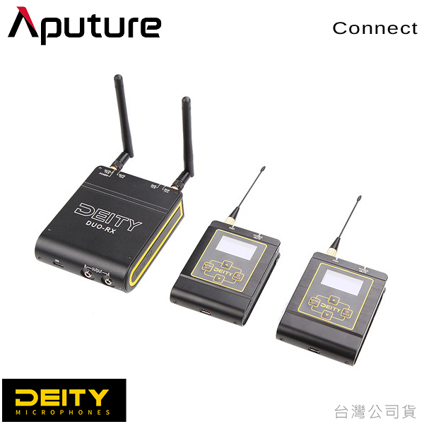 EGE 一番購】Aputure DEITY【Connect】廣播級一對二無線領夾麥克風【公司貨】