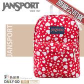 JANSPORT後背包包大容量JS-43501-0A5心心相印