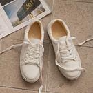 小白鞋 D+AF 日常焦點.百搭加厚底綁...