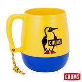 【日本製】CHUMS  露營野餐 圓桶馬克杯 黃/藍 (450ml) CH621000Y013
