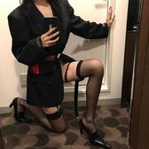 絲襪 2020新品氣質嫩模同款性感透肉薄款百搭撩人顯瘦過膝中高筒絲襪子