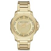 Armani Exchange 城市迷宮時尚腕錶-AX1901