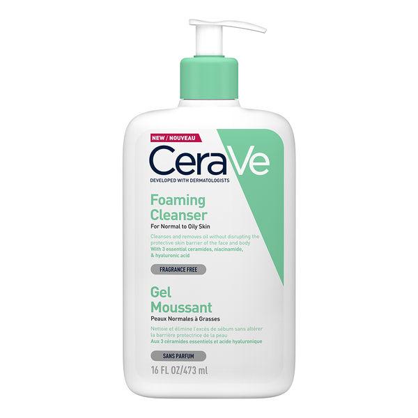 CeraVe溫和泡沫潔膚露473ml