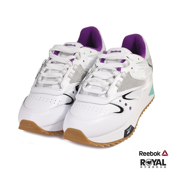 Reebok 新竹皇家 Femmes 白色 皮質 高5cm 休閒運動鞋 女款 NO.I9420