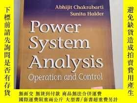 二手書博民逛書店Power罕見System Analysis: Operation and Control電力系統分析:運行與控制