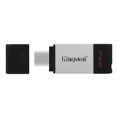 【Kingston】金士頓 DataTraveler 80 64G USB3.2 Type-C隨身碟 (DT80) [富廉網]