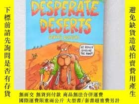二手書博民逛書店Horrible罕見Geography Desperate Deserts(英文原版)Y11016 Anita