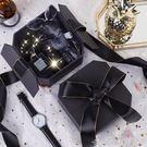 禮物盒伴手禮盒黑色高級INS精美韓版生日口紅禮品盒包裝盒空盒子 潮人女鞋