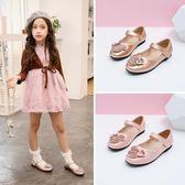 女童皮鞋小女孩水晶鞋鞋子春秋童鞋公主鞋