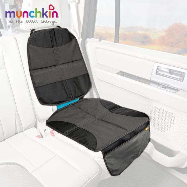 munchkin滿趣健-汽座保護墊+置物袋