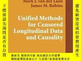 二手書博民逛書店Unified罕見Methods For Censored Longitudinal Data And Causa