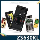 ASUS ZenFone 6 ZS630KL 復古偽裝保護套 軟殼 懷舊彩繪 計算機 鍵盤 錄音帶 矽膠套 手機套 手機殼