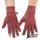 『VENUM旗艦店』PolarStar 抗UV排汗短手套『暗紅』P21515