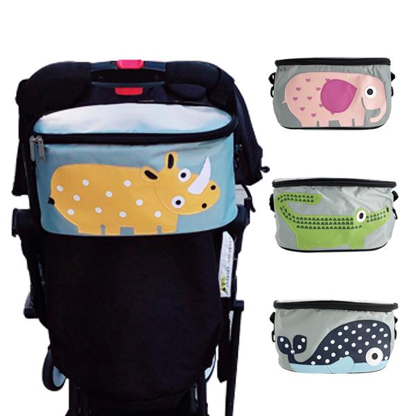 嬰兒推車加蓋收納置物分格掛袋-JoyBaby
