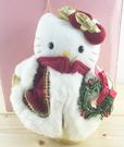 【震撼精品百貨】Hello Kitty 凱蒂貓~聖誕絨毛擺飾-kitty圖案-國王
