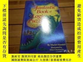 二手書博民逛書店FANTASTIC罕見BOOK OF LOGIC PUZZLES
