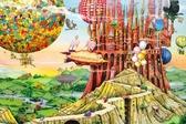 【拼圖總動員 PUZZLE STORY】Flying Home(作者:Colin Thompson) PuzzleStory X Apple one/繪畫/1000P