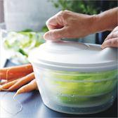 宜家托奇沙拉甩干機沙拉碗蔬菜脫水器水果濾水籃色拉甩水器瀝水籃中秋禮品推薦哪裡買
