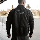 衝鋒衣 20秋季新款肌肉兄弟外套健身訓練服男式長袖立領夾克風衣防風連帽T恤