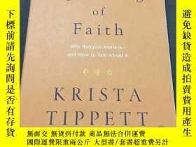 二手書博民逛書店SPEAKING罕見OF FAITH:WHY RELIGION