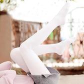 日系薄款天鵝絨連褲襪春秋中厚白色絲襪女打底襪子防勾絲肉色秋冬