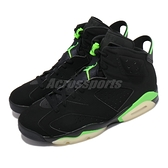 Nike 籃球鞋 Air Jordan 6 Retro 黑 綠 Electric Green AJ6 男鞋【ACS】 CT8529-003