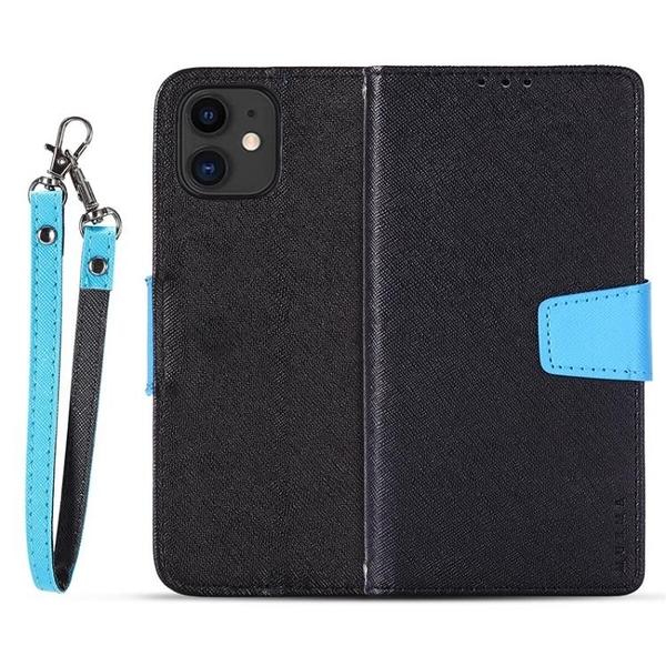 OPPO A5s / Ace 2 / AX5s / AX7 雙色拼接手機殼 折疊錢包皮套帶卡槽