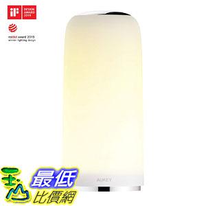 [8美國直購] AUKEY LT-T7 多段可調觸控式LED變色夜燈 暖白光 桌燈 閱讀燈 夜燈 Touch-Sensitive Table Lamp
