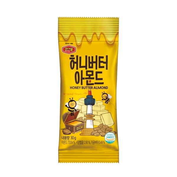 韓國Murgerbon杏仁果-蜂蜜奶油味 30G