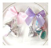 幸福朵朵*【KISSES水滴3入喜糖包】進口巧克力.宴客婚禮小物.情人節活動.禮贈品