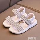 女童涼鞋 女童涼鞋新款春夏季兒童公主鞋網紅爆款中大童韓版軟底寶寶鞋 韓菲兒