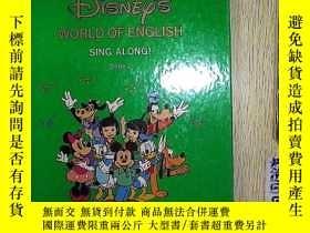 二手書博民逛書店Disneys罕見world of english SING A