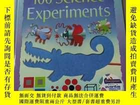 二手書博民逛書店100罕見Science Experiments:100年科學實驗Y212829