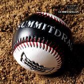 雙色凹凸標軟式棒球專業實心練習壘球【聚寶屋】